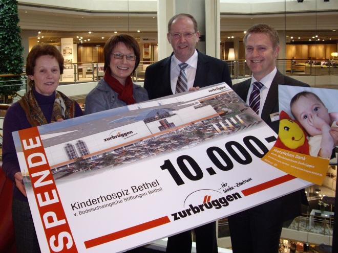 10000 Euro Für Kinderhospiz Radio Bielefeld