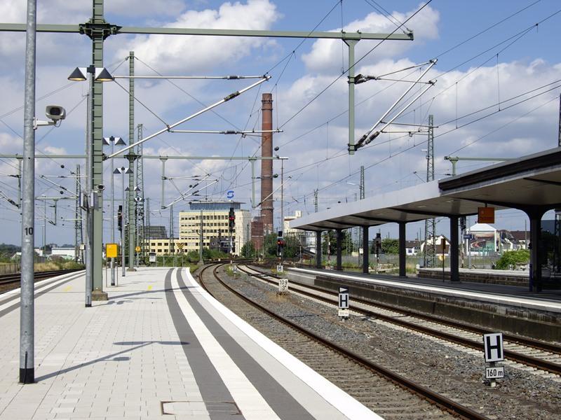 Hauptbahnhof Am Vatertag Gesperrt Radio Bielefeld